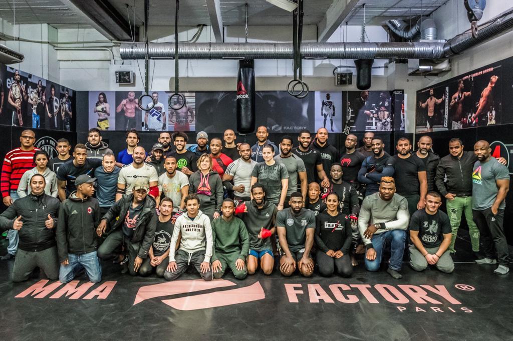 Fernand Lopez et la Dream Team du MMA FACTORY